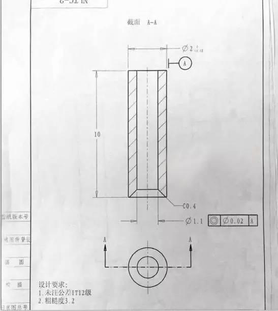 机械轮零件图纸