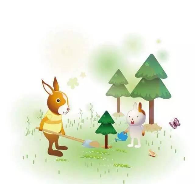【睡前故事】《小动物植树》