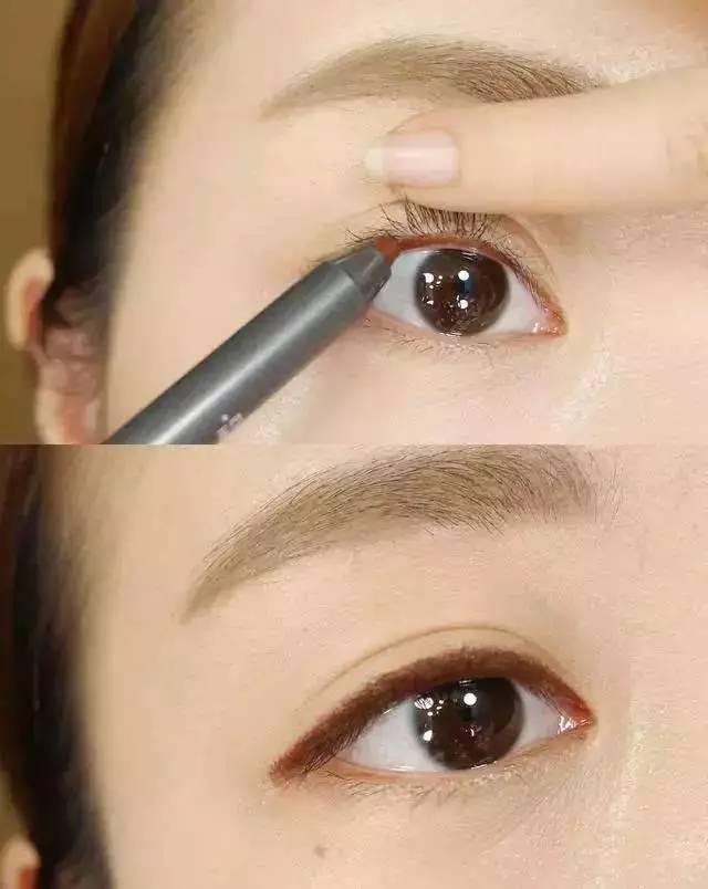 伪素颜妆的内眼线要怎样画呢?三个小技巧帮你速成妆图片