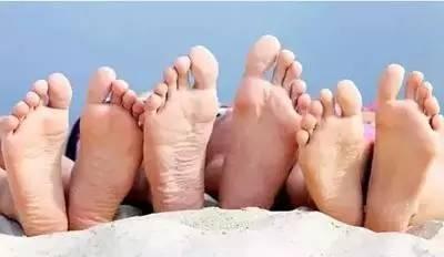 脚趾和身体相对应的内脏图解