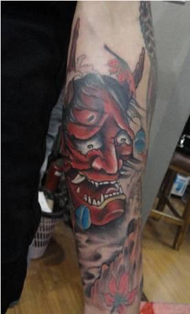 纹身分享:般若