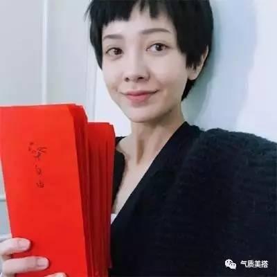 配上今年流行的二次元刘海都很可爱,郭采洁就是我印象中国内女星剪超