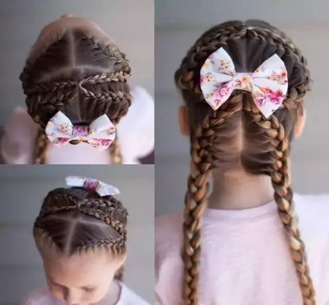 六一儿童节|这是我见过最美的创意儿童扎发!