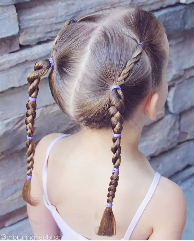 六一儿童节|这是我见过最美的创意儿童扎发!(附扎发