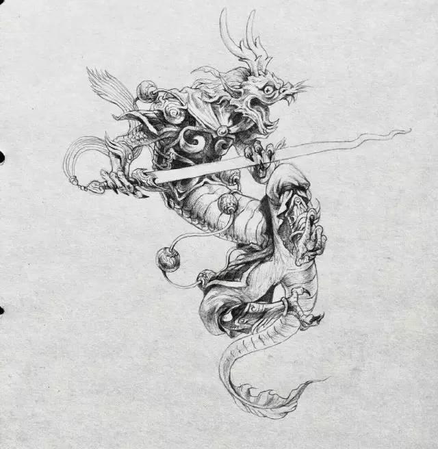 翡翠知识 | 玉雕手稿设计欣赏