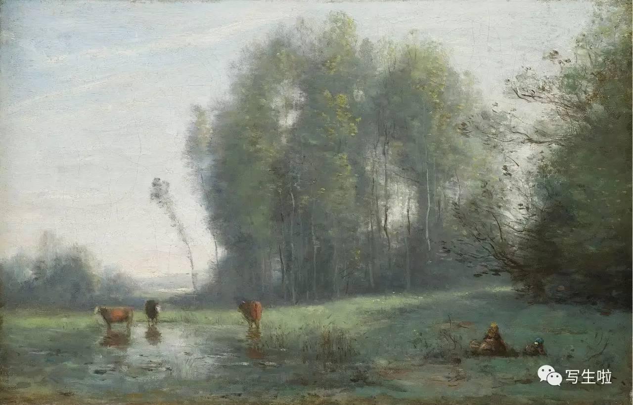柯罗——朴实无华的风景画