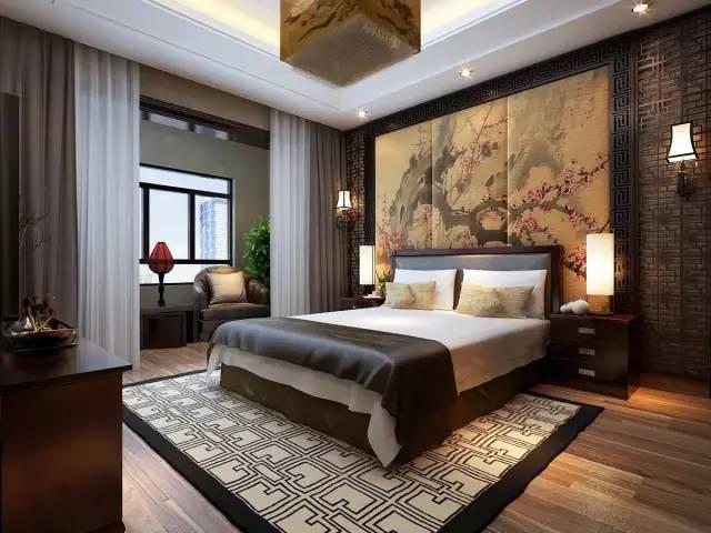 中式红木家装卧室欣赏(图集)