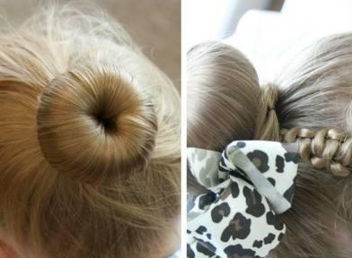 女宝宝编发扎发,学会了你家宝贝每天都美美哒!
