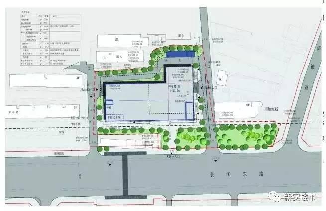 拟建东二环p r停车场规划总平面图