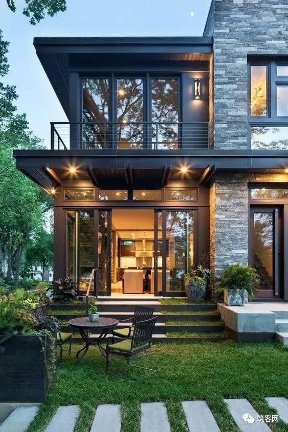 40款简洁的现代别墅设计