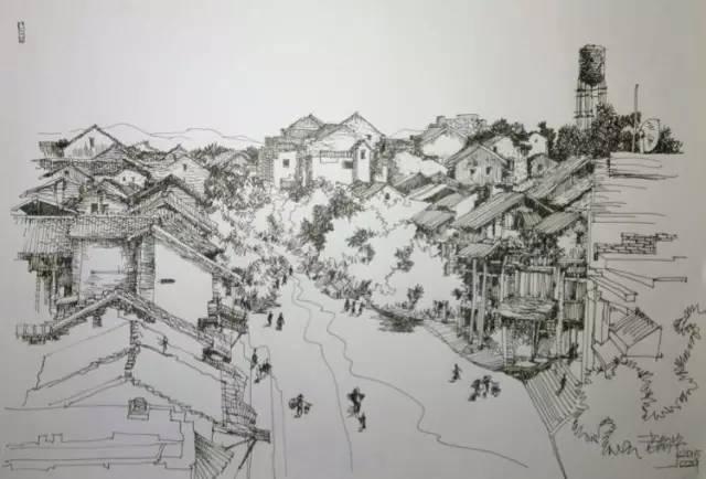 建筑师王晓东手绘作品(珍藏版)