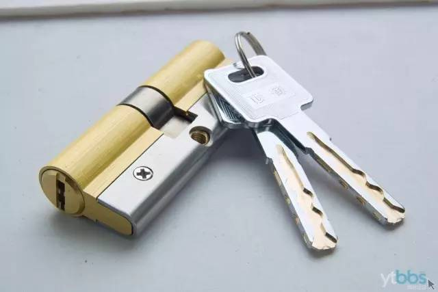 执手锁体内部拆卸结构图