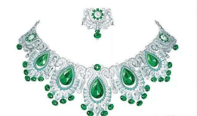 时尚 正文  珠宝手绘设计稿是珠宝设计重要环节,宝石设计可以让人入迷