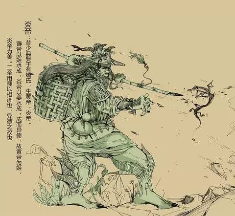 炎帝与黄帝的传�_据说,早在5000年前的黄帝时期,黄帝和炎帝发生冲突,结果黄帝部落获胜.