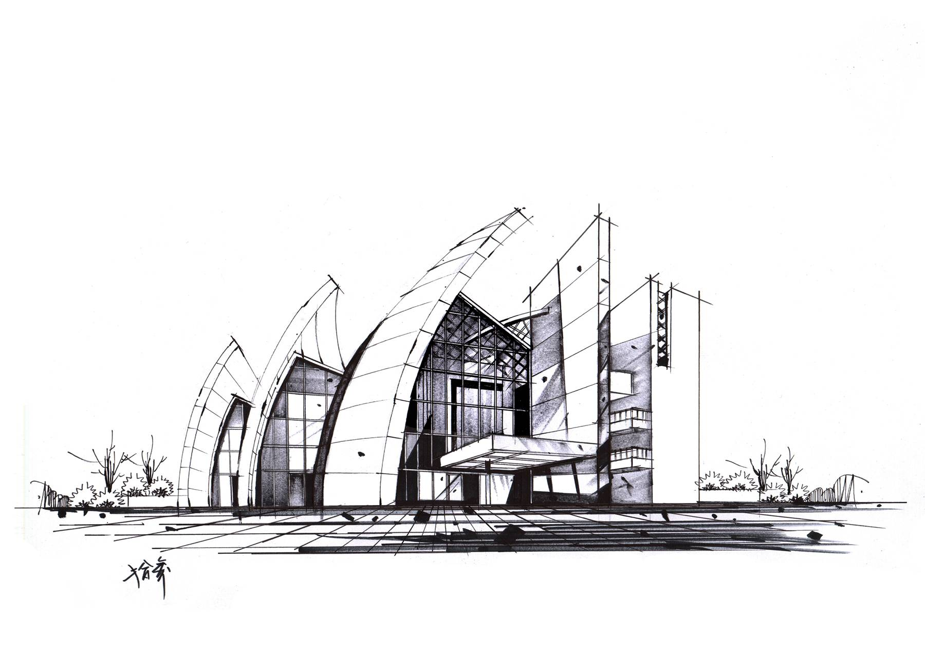 建筑师 - 马岩松 △ 美国 加州洛杉矶 迪士尼音乐厅 建筑师 - 弗兰克