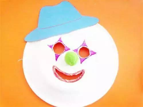 母婴 正文  制作步骤图解: 制作步骤: 快戴上你的纸盘面具,谁还能认出