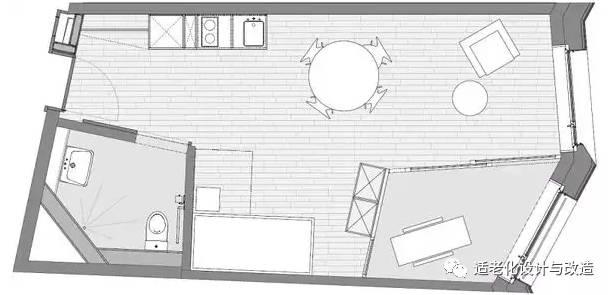 养老院内部布置平面图