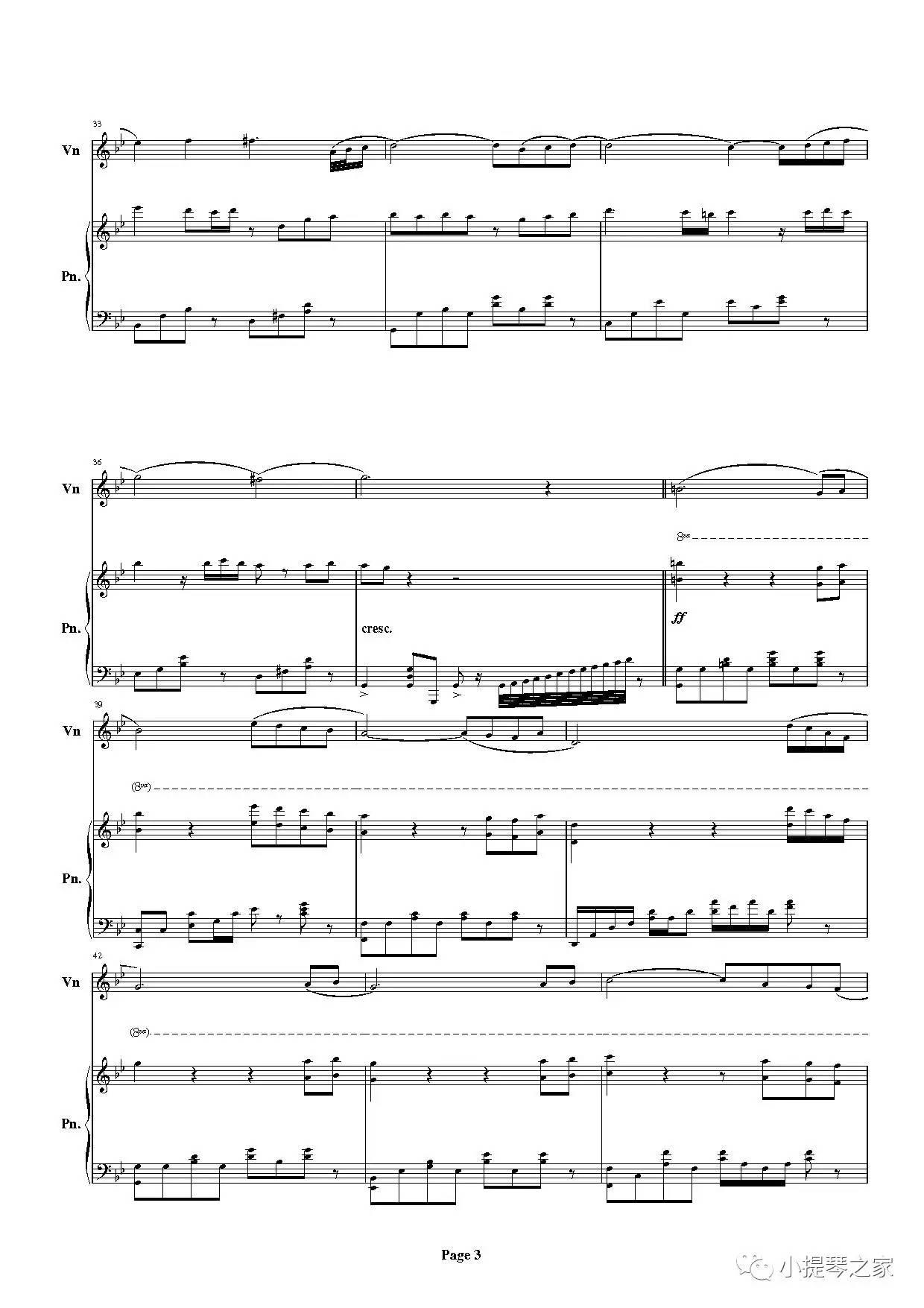 月半小夜曲 附小提琴谱,钢琴伴奏谱 原唱李克勤,河合奈保子曲