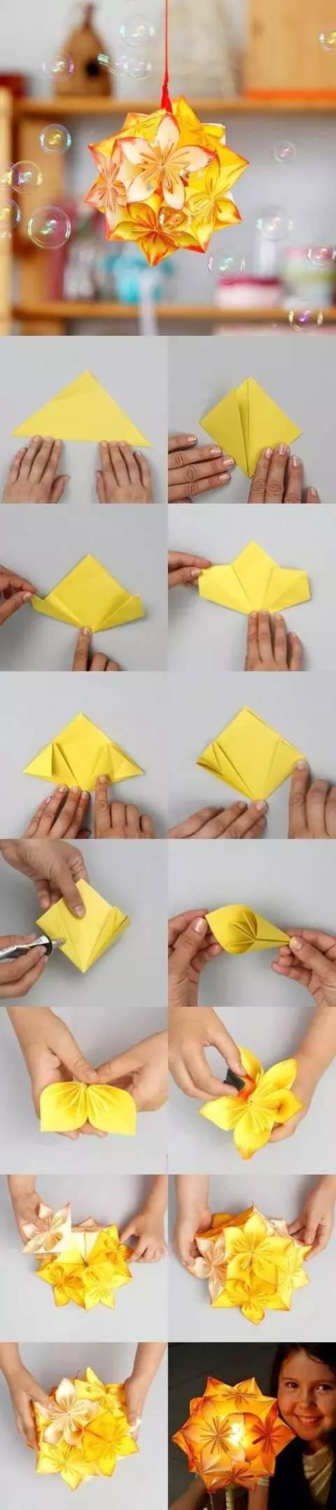 折纸教程大全图解步骤