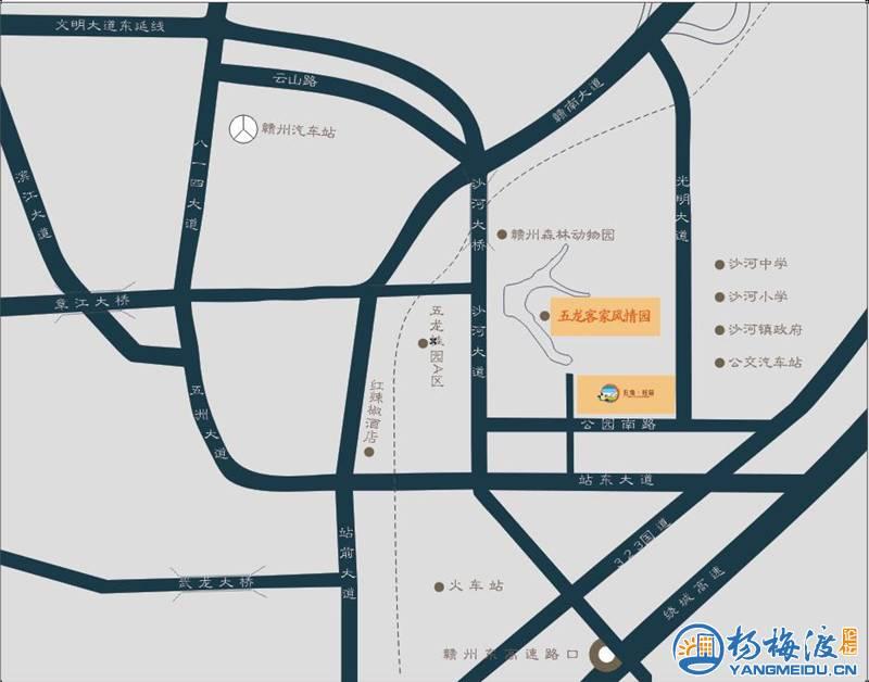 杨梅渡论坛6月4日赣州森林动物园游园