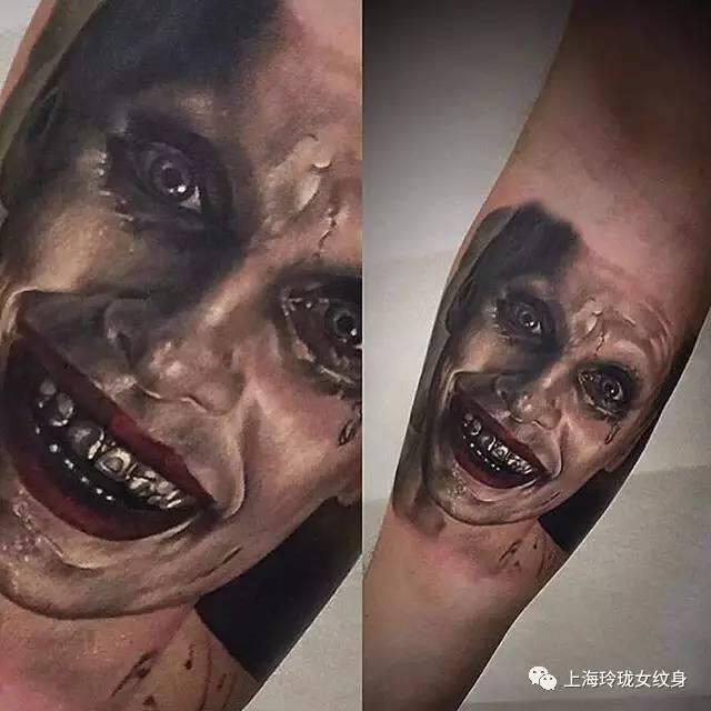 小丑纹身——我就问你怕不怕