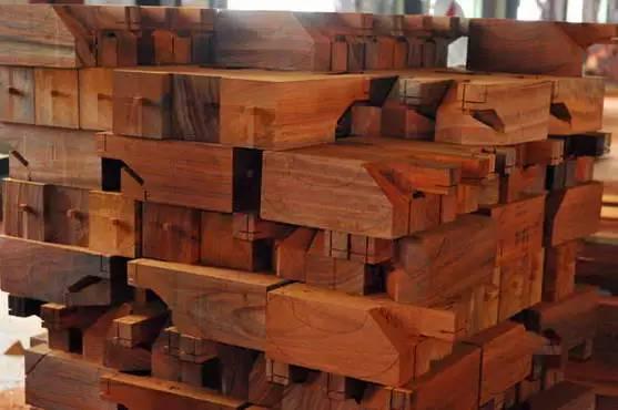 红木家具的榫卯与部件结构名称介绍