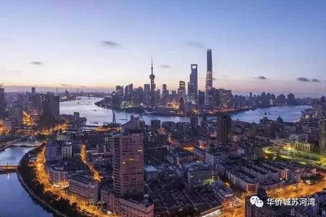 华侨城苏河湾实拍图片