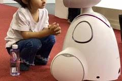 记者观察 智能机器人亮相全国书博会 遭围观
