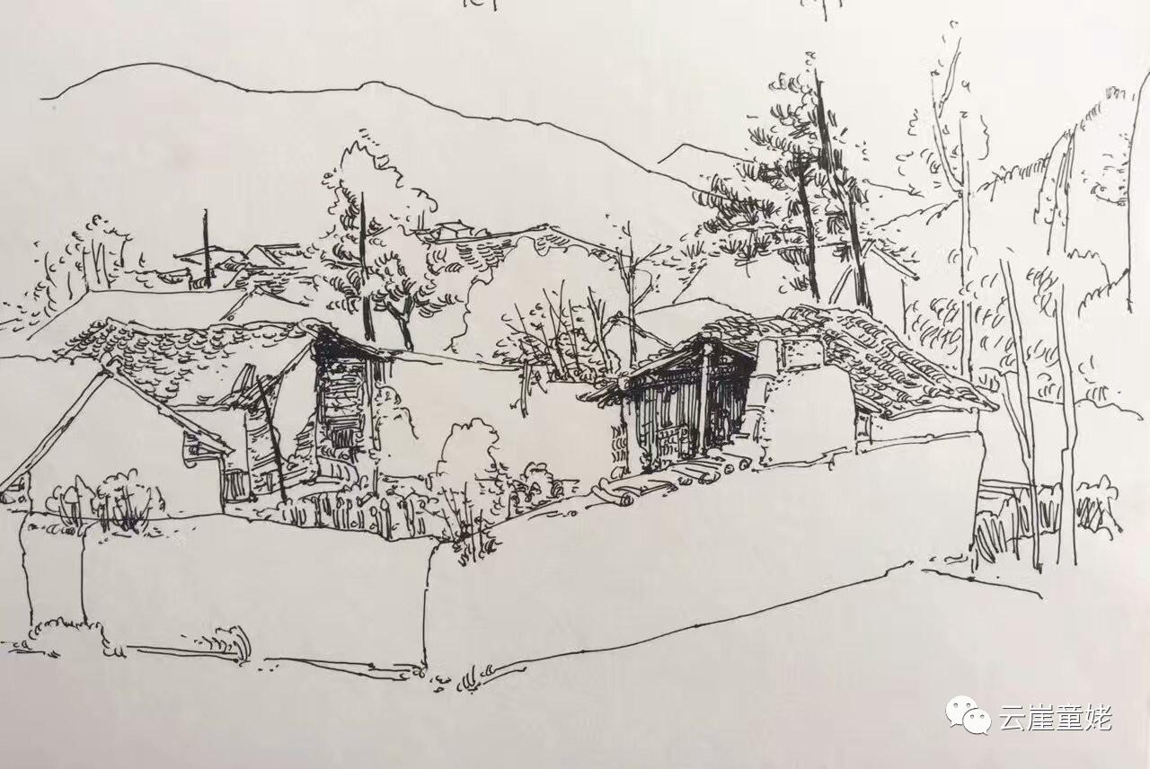 国画 简笔画 手绘 素描 线稿 1280_856