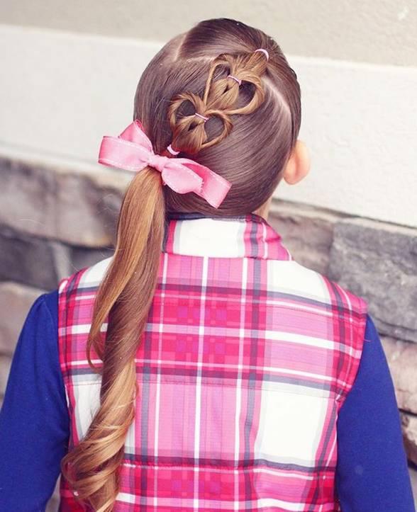【风尚】一大波超美的儿童心形编发~辣妈们就照着这些