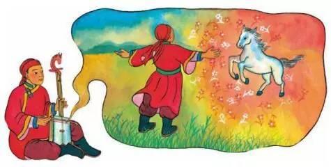 每天为孩子讲一个故事 | 蒙古少年的马头琴图片