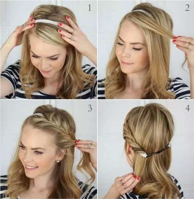 学会这样编头发,一秒路人变女神!
