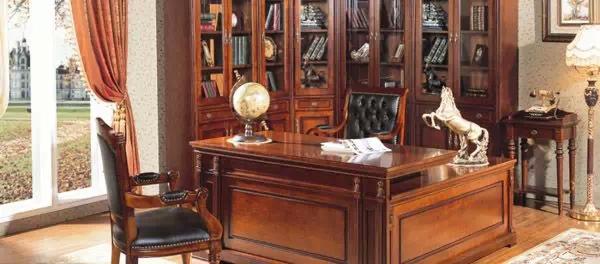 中建联艺说:欧式古典办公室装修风格