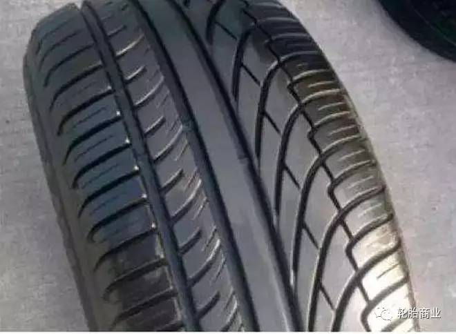 非对称花纹轮胎