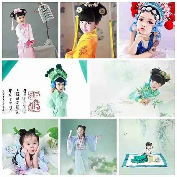 9.9元抢订原价399儿童古装写真!