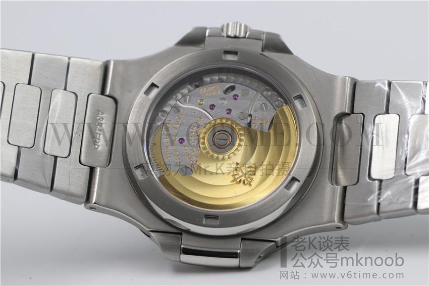 老K谈表第158期:MK厂V4百达翡丽鹦鹉螺拆解评测!