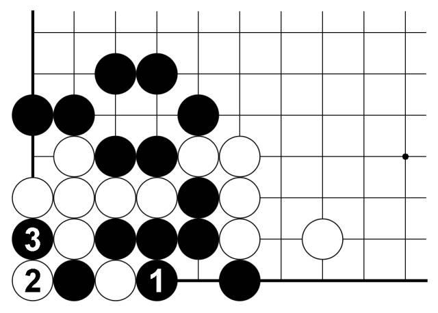 围棋常用对杀技巧—倒扑的要点(169)