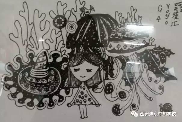 诗画   模仿大师画   生肖创作   传承中创新   创意手工   黑白线描