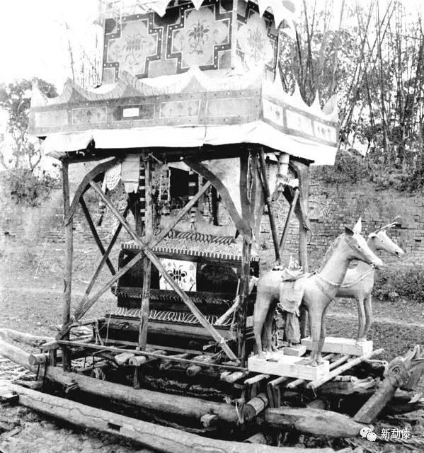 珍贵老照片 1935年勐卯佛爷葬礼 拉罗摆图片