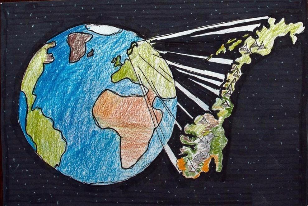 感谢国际制图协会供图 《我的世界地图图片