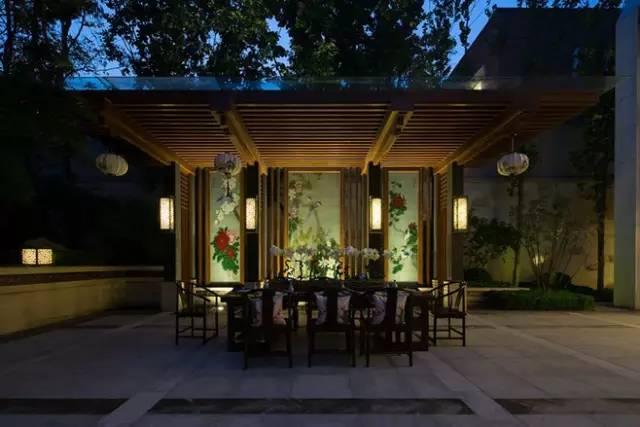 新中式庭院:无限风情在此间图片