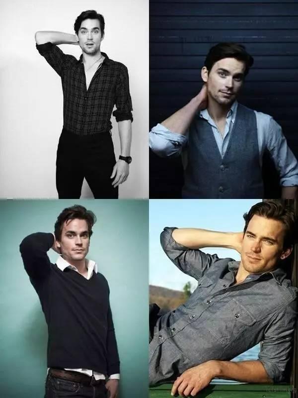 其实男生耍帅的拍照 pose 都是图片