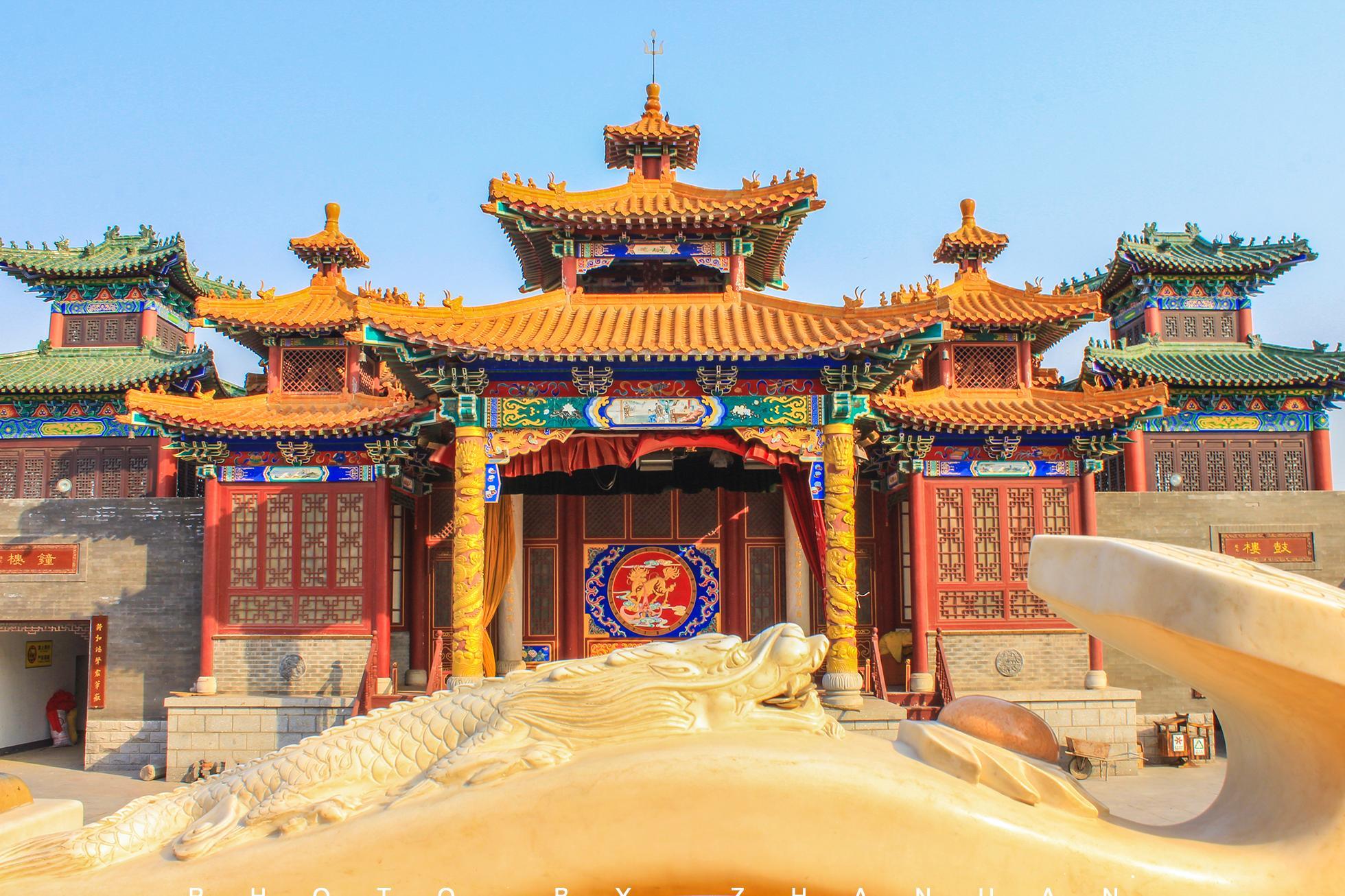 一座蚕沙口天妃宫,渤海湾畔的妈祖文化