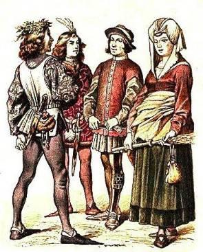 「涨知识」从中世纪三大文化风格,领略中世纪服装演变图片