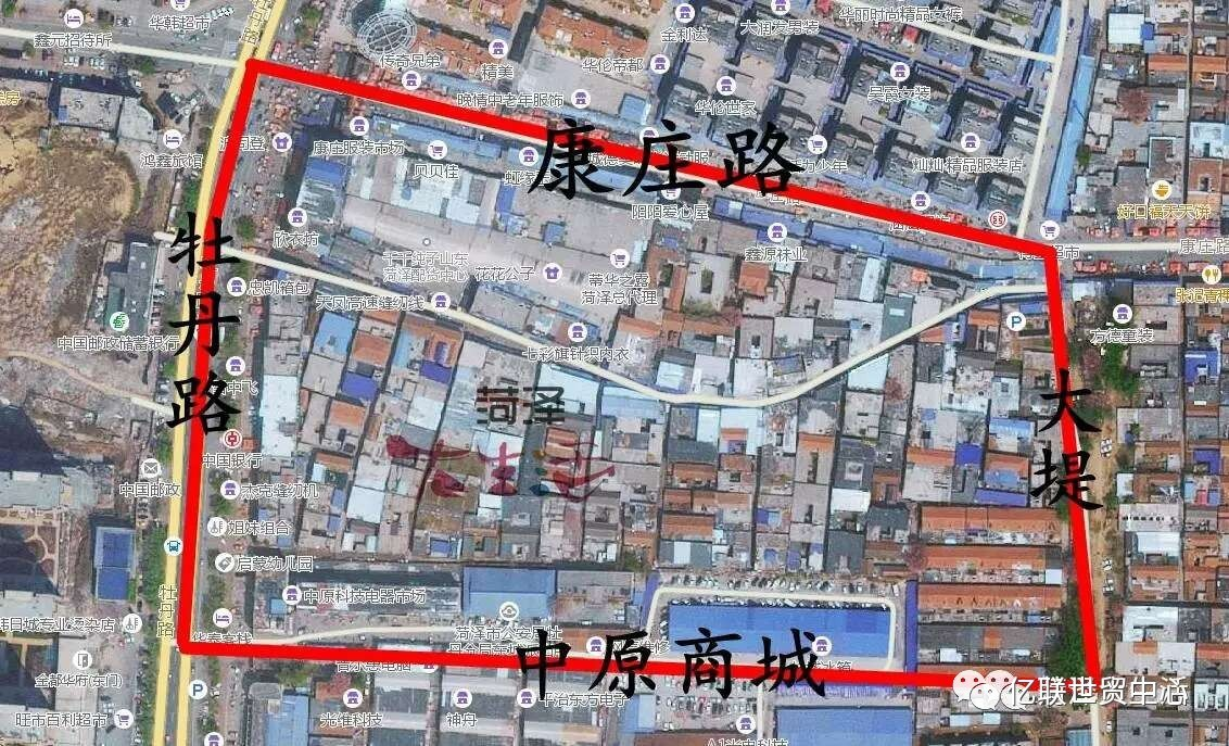 江汉区折迁红线规划图