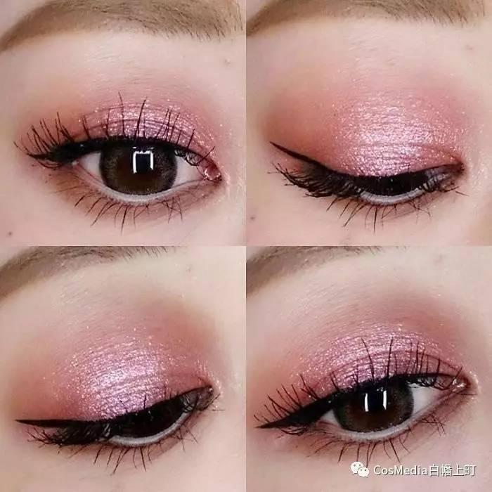 高丝眼影和canmake眼影_单眼皮怎么画眼影_yyds眼影