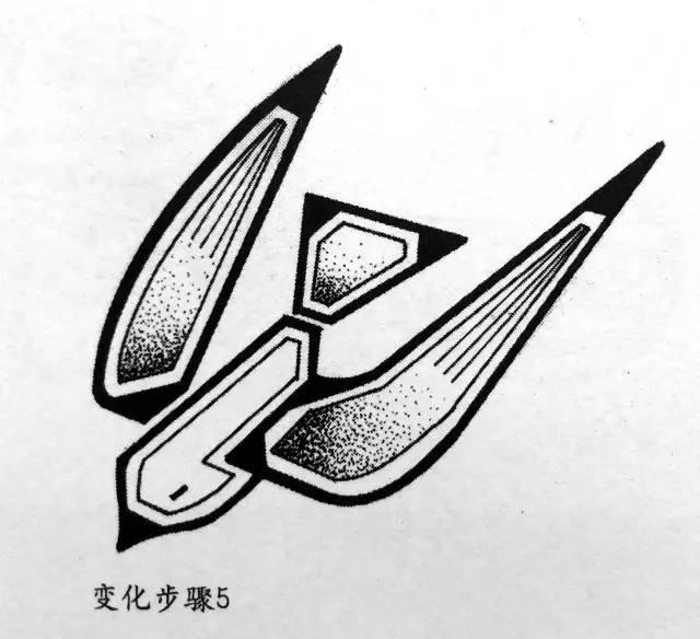 山君课堂|黑白装饰画之图形变形手法