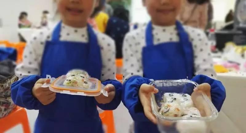 幼儿饭团手工制作