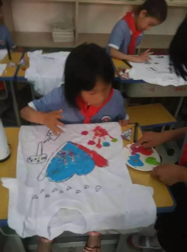 """【动感中队】""""diy手绘t恤,给自己一份特别的六一礼物""""——临沂幸福"""