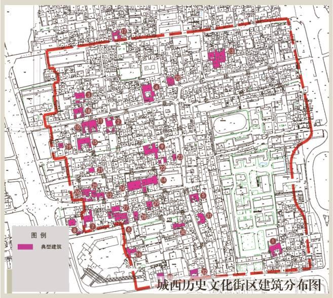彩色手绘房屋地图